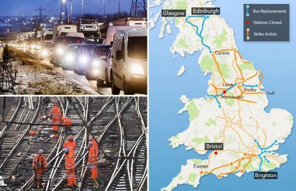 Easter bank holiday Brits facing getaway from hell as Iroads and rail works threaten travel chaos