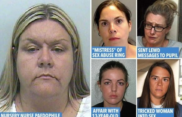 Paedo teacher, abusive mum or 'clinically deviant' woman…these are the three types of female sex offender – so are they on the rise?