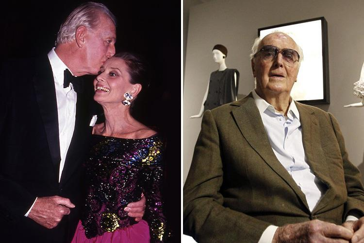 Hubert De Givenchy dead at 91 – Legendary French fashion designer famous for styling Audrey Hepburn and Jackie Kennedy passes away