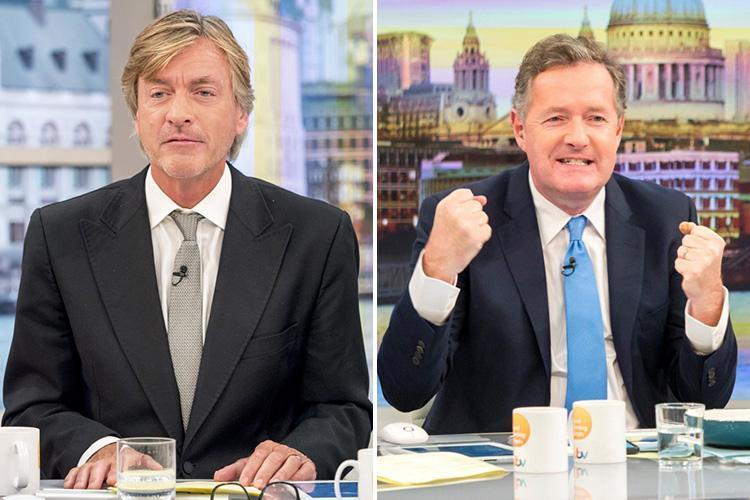 Richard Madeley will replace Piers Morgan when Good Morning Britain returns on Monday