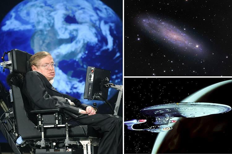 Stephen Hawking predicted the end of the world and future of Star Trek-style space travel just two weeks before he died