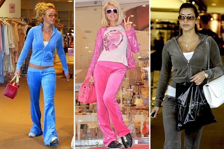 Juicy Couture is back with a bang… but who remembers the golden years of fashion's worst ever tracksuit?