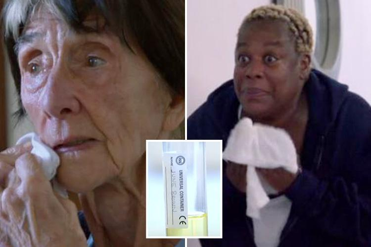 EastEnders' June Brown and Sandra Martin rub urine on their faces to turn back the clock for anti-ageing treatment