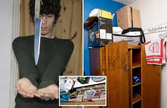 Photos and video inside home where Parsons Green attack accused carried out bizarre experiments before 'detonating explosive on packed Tube train'
