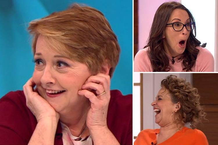 Loose Women viewers angered by panel's lewd sex chat as kids off school on snow days watch at home