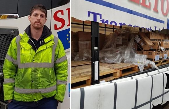 Sleeping lorry driver gassed in his cab by thieves who stole gear worth £70,000 in terrifying crime trend
