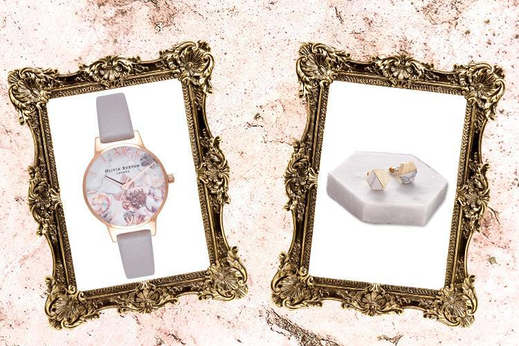 Floral Olivia Burton watch, a stunning side table and a 'marble-ous' cheese board… here's what we're lusting after today