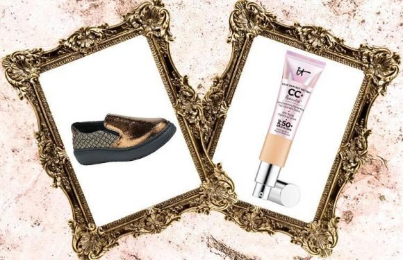 Metallic trainers and a new CC cream… here's what we're lusting after today