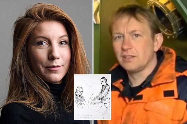 Danish inventor accused of murdering journalist Kim Wall says she had a 'very, very lovely night' with him until her death and dismembering