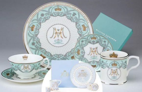 There's a dupe collection of Prince Harry and Meghan Markle's official royal China – can YOU tell the difference?