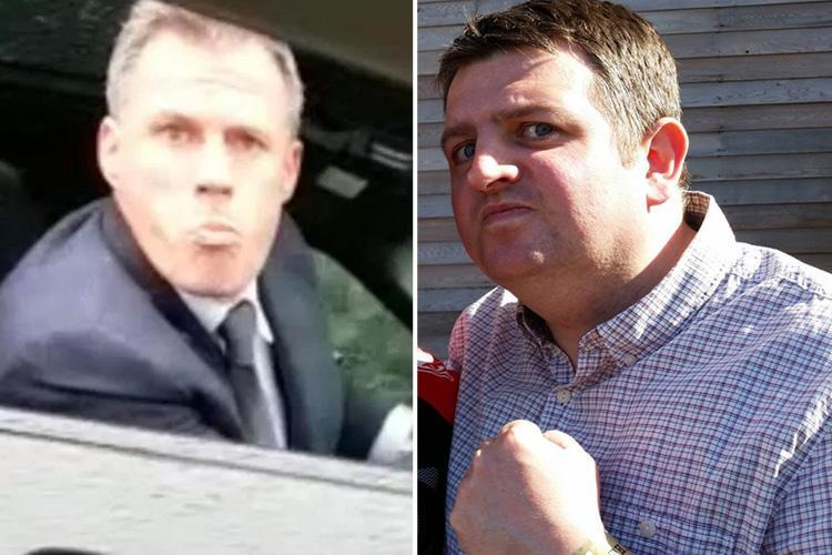 Jamie Carragher could face six months JAIL over spit shame as cops reveal they want to speak to ex Liverpool star