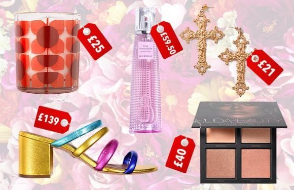 Here are the top beauty, fashion and lifestyle items of the week… including some fancy chocolate, shiny sandals and a sparkling scent