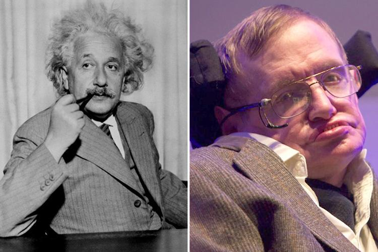 Stephen Hawking was born on the 300th anniversary of Galileo's death and died on the same day Albert Einstein was born