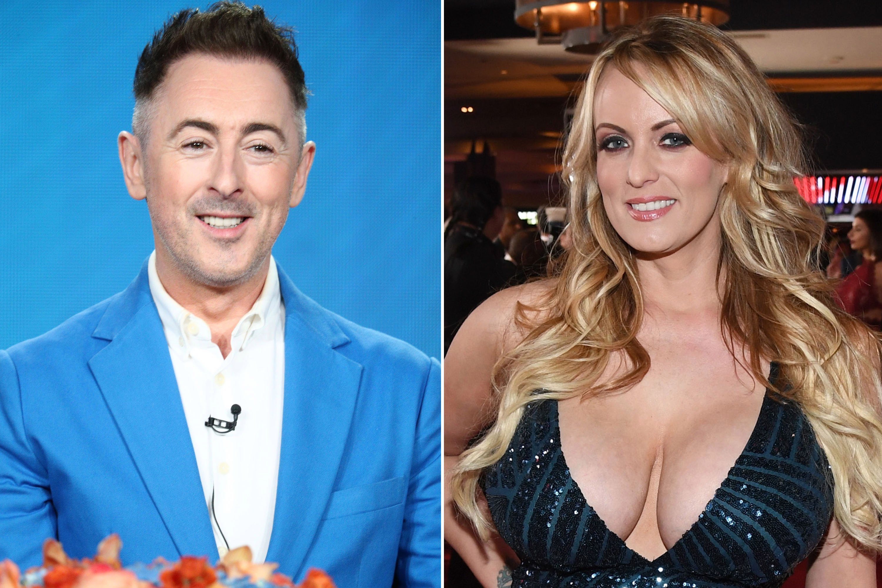 Alan Cumming could be thanking Stormy Daniels soon