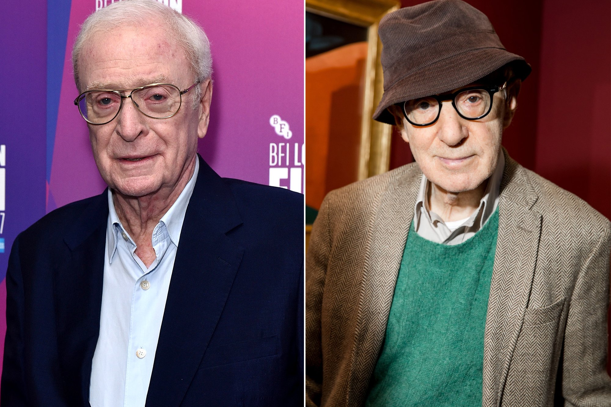 Michael Caine says he will never work with Woody Allen again