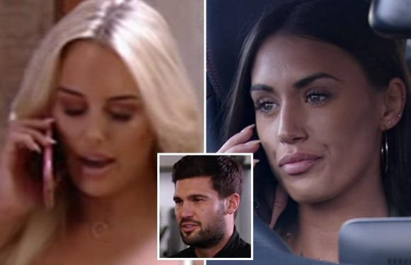 Towie's Amber Turner tells new girl Clelia Theodorou that Dan Edgar has been two-timing them
