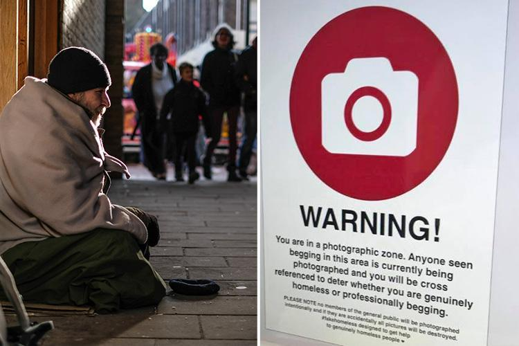 Gangs of 'fake beggars' forced out of town much to the relief of genuine rough sleepers in Torquay