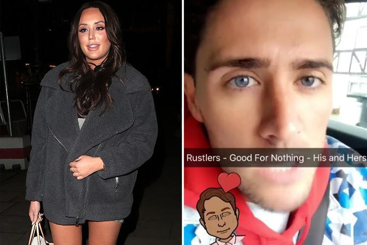Charlotte Crosby denies claims she owes Stephen Bear money after her ex's furious online rant