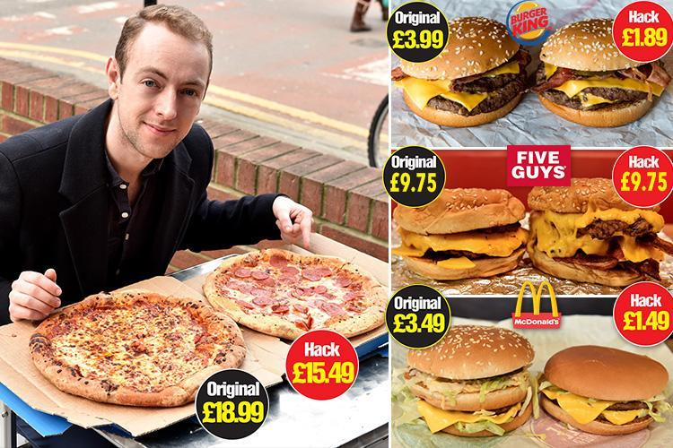 How to order a 'Big Mac' for just £1.49 and more ways to pimp up fast food