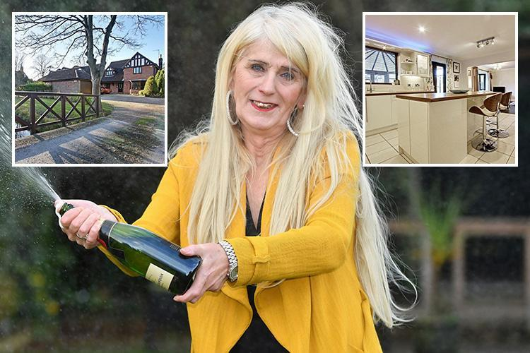 Transgender £4m Lotto winner slams 'nimby' neighbours after they block move to £450k 'dream home'