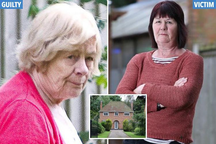 Snob OAP, 78, warned she faces jail if she continues 15-year hate campaign of prank calls, fires and garden weedkiller