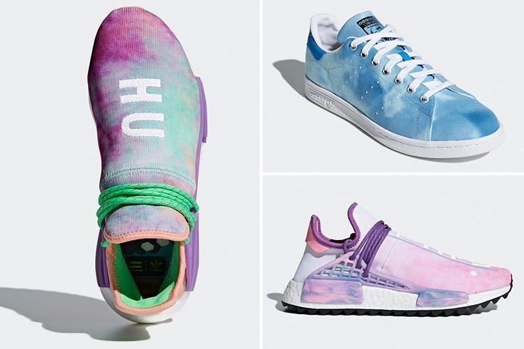 Adidas has revealed its latest colourful collection in collaboration with Pharrell Williams