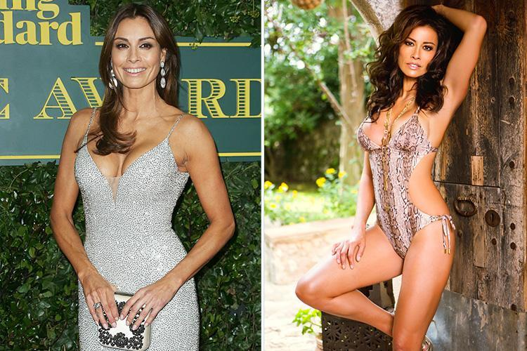 Melanie Sykes, 47, shows fans she's still got it with sizzling cut-out bikini snap