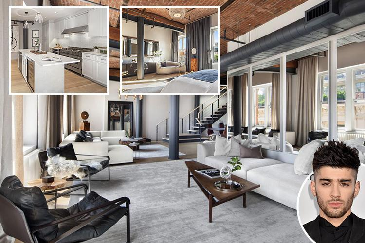 Inside Zayn Malik's new £7.2million New York apartment as he moves on from split with Gigi Hadid – with Harry Styles just 15 minutes down the road