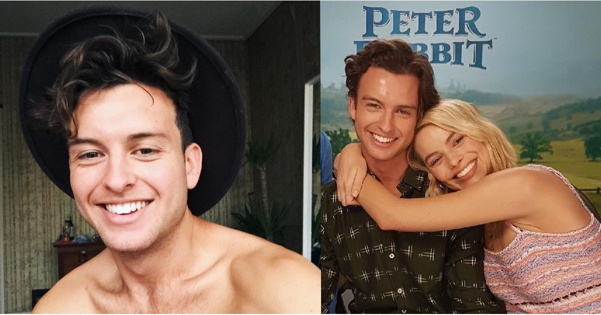 So, ICYMI, Margot Robbie's Younger Brother Is Really, Really Ridiculously Good Looking