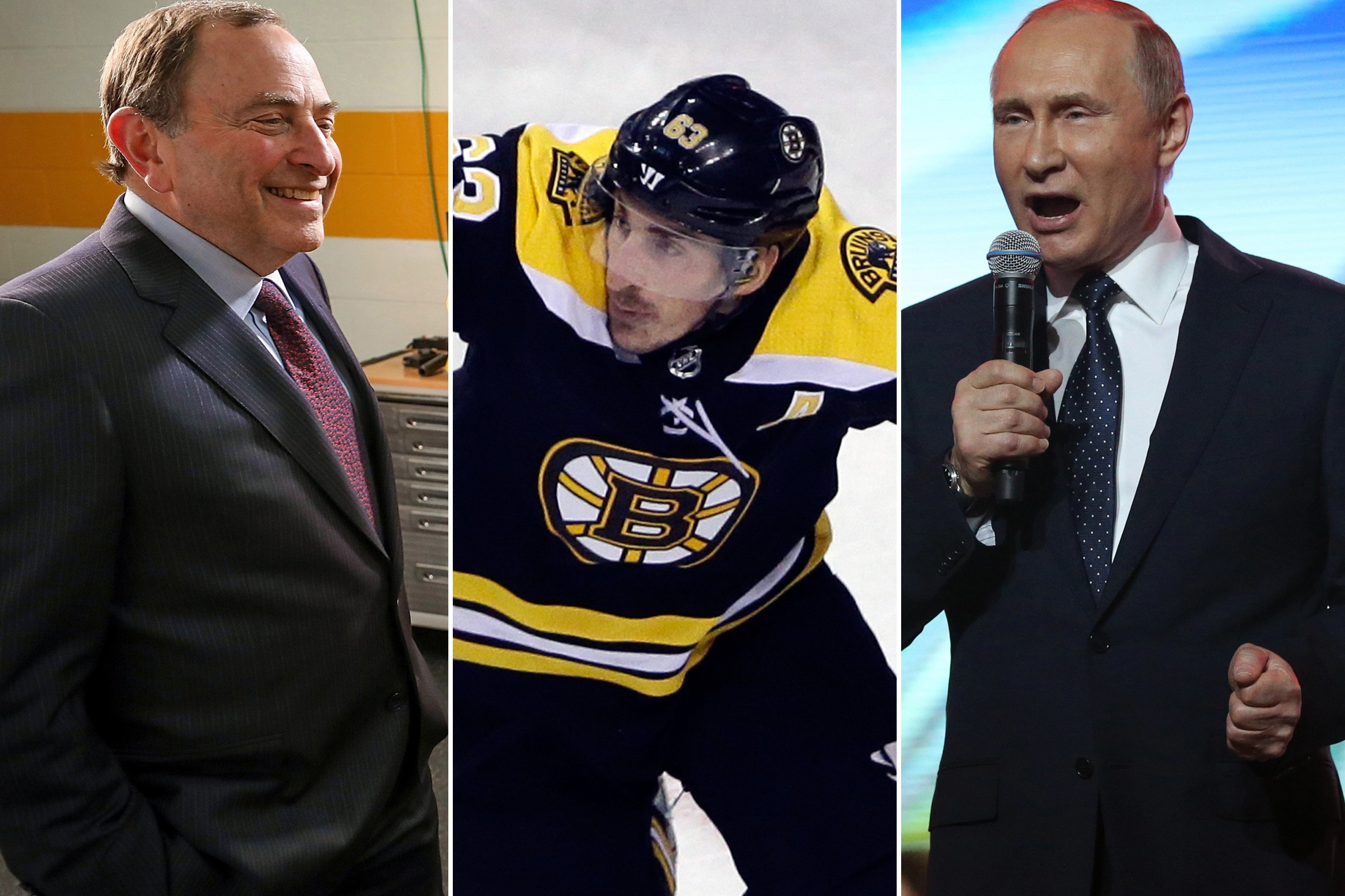 Visions from the NHL's future as a Vladimir Putin rival