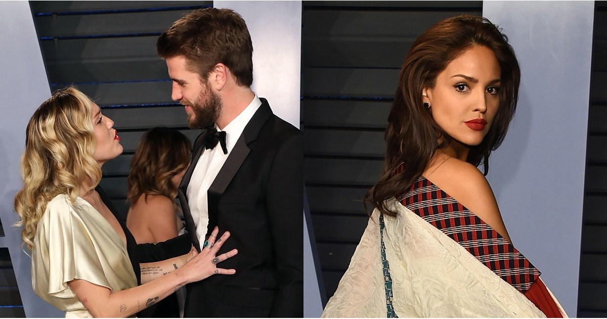 Yikes! Miley and Liam Just Barely Avoid a Potentially Awkward Run in With Eiza González