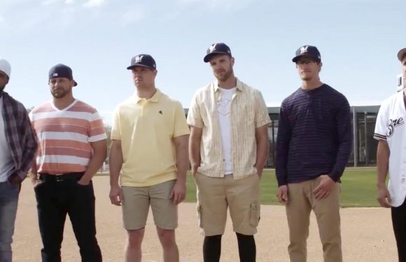 Sandlot anniversary: Milwaukee Brewers players re-create iconic scene