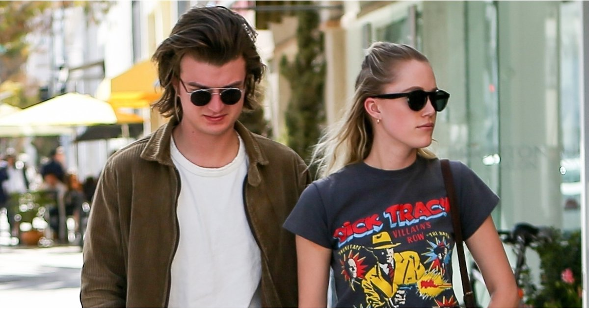 The Only Thing Cuter Than Stranger Things' Joe Keery Is His Girlfriend's T-Shirt