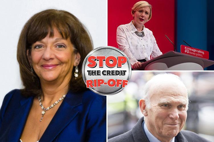 MPs and Peers back Sun campaign to end rip-off credit fees and stop vulnerable Brits being preyed on by lenders