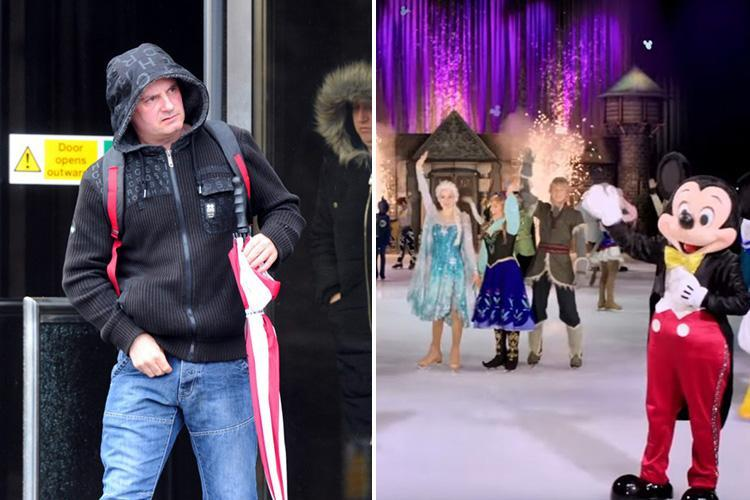 Heartless couple left baby with broken thigh to go and see Disney on Ice