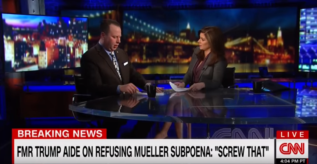 Former Trump aide Sam Nunberg denies being drunk in CNN interview after branding White House press secretary a 'fat slob'