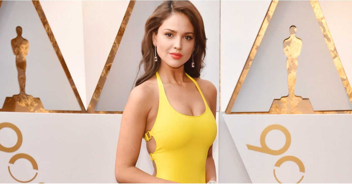 Eiza González's Oscars Dress Was a Ray of Sunshine — and Then We Saw the Back