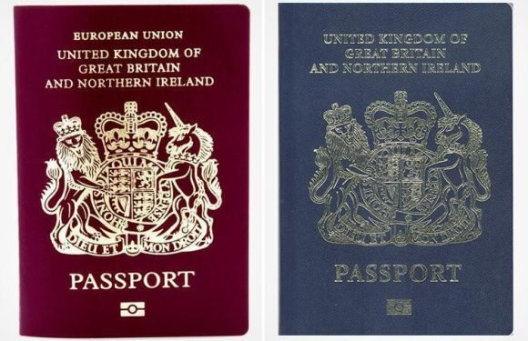 Home Office accused of 'national humiliation' after deciding new blue British passports will be made in FRANCE