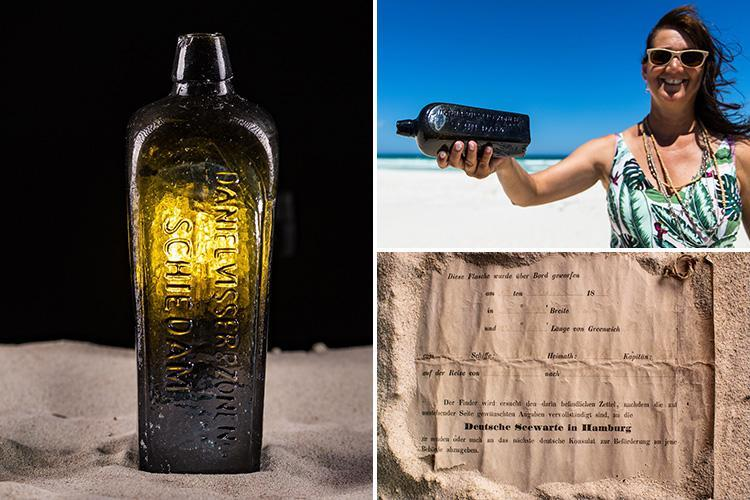 World's oldest message in a bottle found on Australian beach in perfect condition 132 years after explorers dumped it in the sea