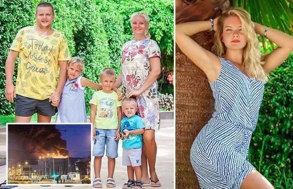 Dad who lost entire family in Russian mall inferno blasts 'corrupt' Vladimir Putin over safety failings