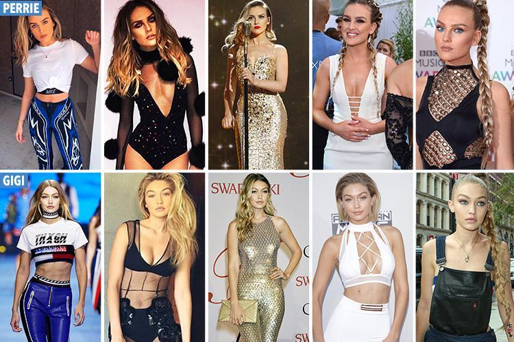 Perrie Edwards and Gigi Hadid don't just share their taste in men… here are 15 times they copied one another's style too