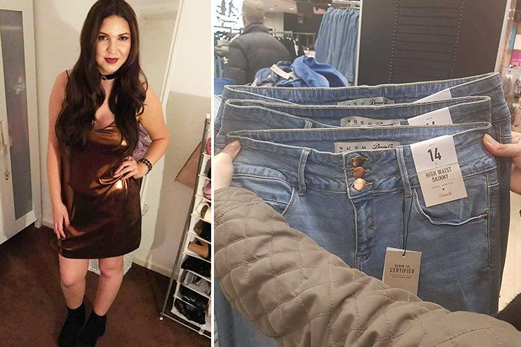 Shopper slams Primark after discovering three pairs of 'size 14' jeans that are completely different sizes