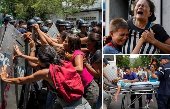 Venezuela jailbreak attempt kills at least 68 people after sparking riot and fire at police station