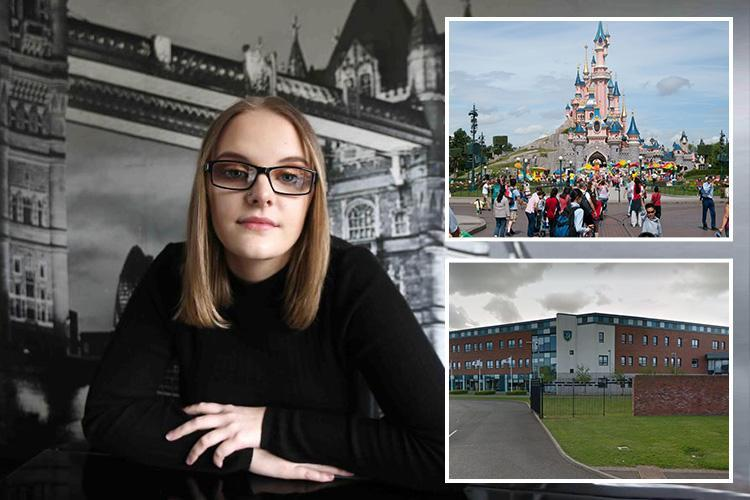Schoolgirl was 'banned from Disneyland trip by teachers over mental health issues'
