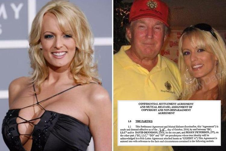Donald Trump's alleged porn star lover Stormy Daniels could make sexts, photos and videos PUBLIC, her lawyer claims