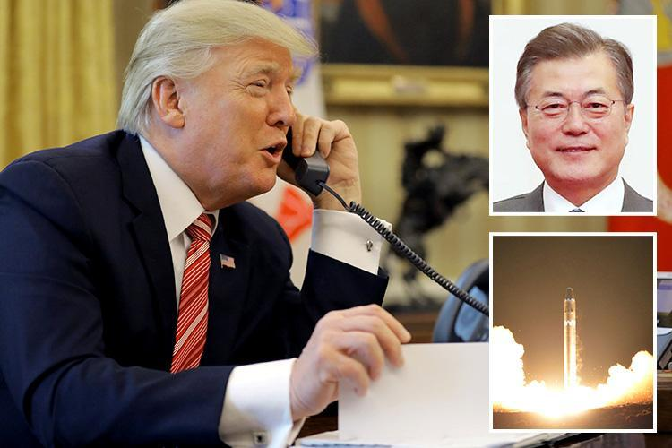 Donald Trump mistook South Korean president for North Korean official during phone call and started berating him about nukes