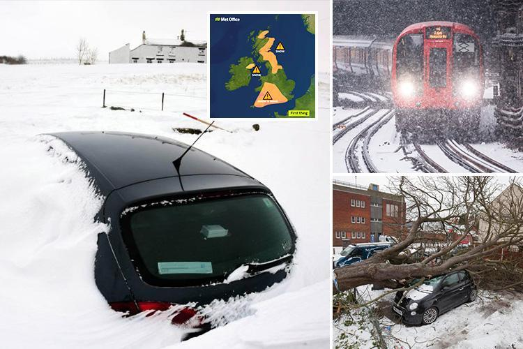 UK set for one final furious icy blast of weather this weekend as they're warned 'you're not out of the woods yet'