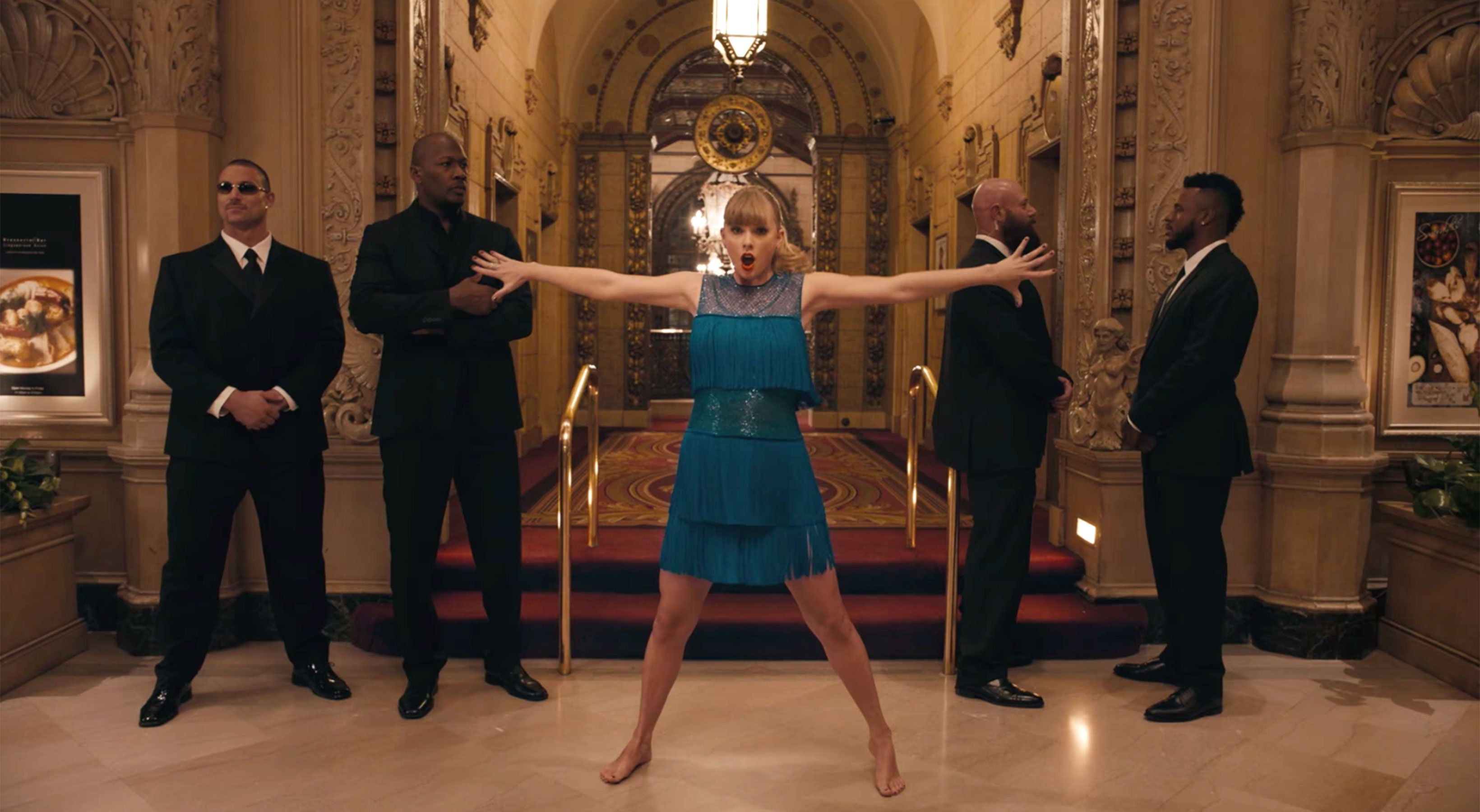 Taylor Swift video for Delicate drops