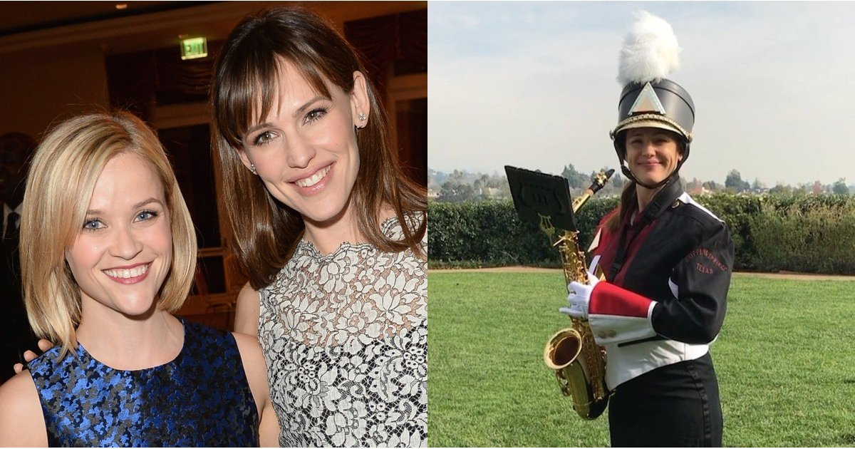 "Jennifer Garner Dusts Off Her Saxophone to Give Reese Witherspoon the ""#1 Best Birthday"" Gift"