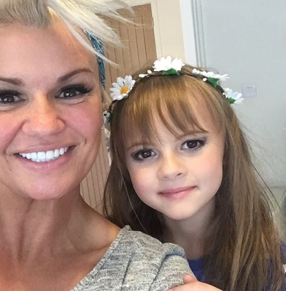 Kerry Katona brands 11 year old daughter Heidi a 'lazy cow' because she doesn't do any sport